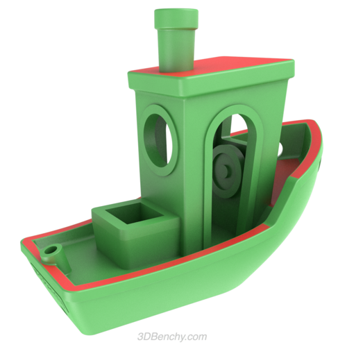 #3DBenchy - The jolly 3D printing torture-test 3D Print 18128