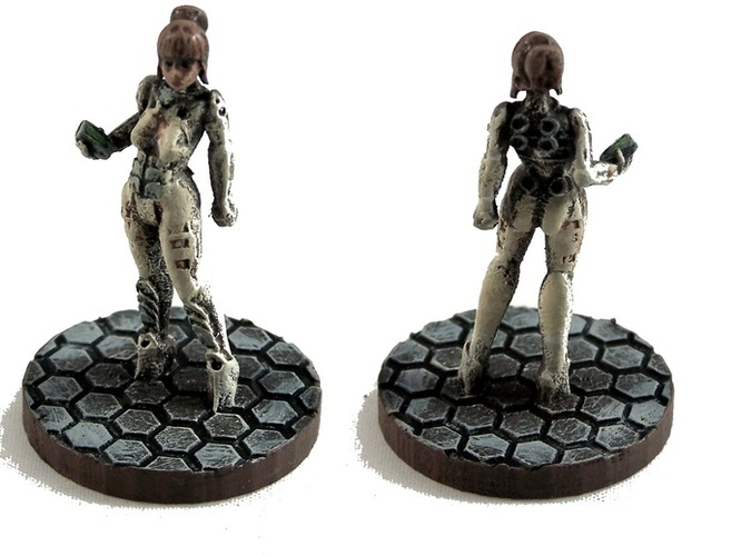 Transformative image for free 3d printable miniatures