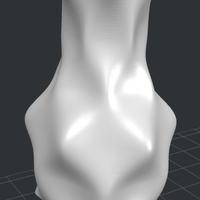 Small asteroid vase 3D Printing 181334