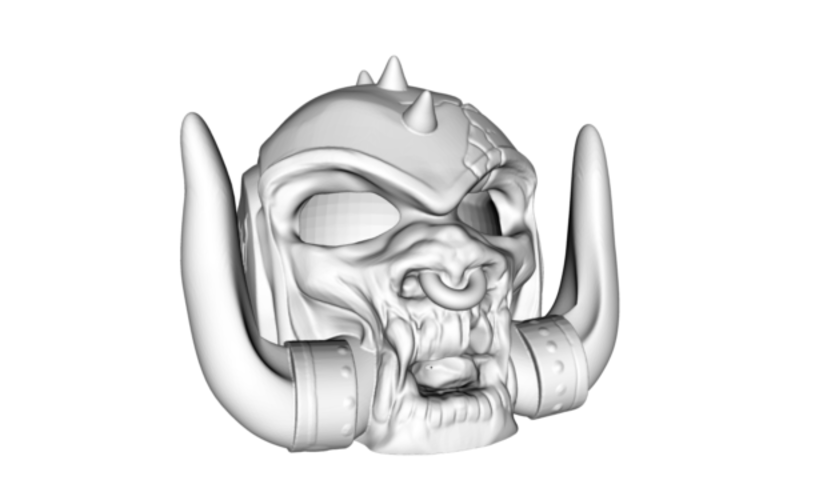 Motorhead's Snaggletooth Aquarium decor 3D Print 181383