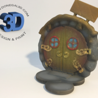 Small Fairy Door 3D Printing 181424