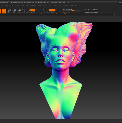Angel, Wing-Haired Lady 3D Print 181572