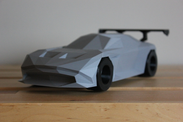 Medium Low-Poly Aston Martin Vulcan 3D Printing 182072