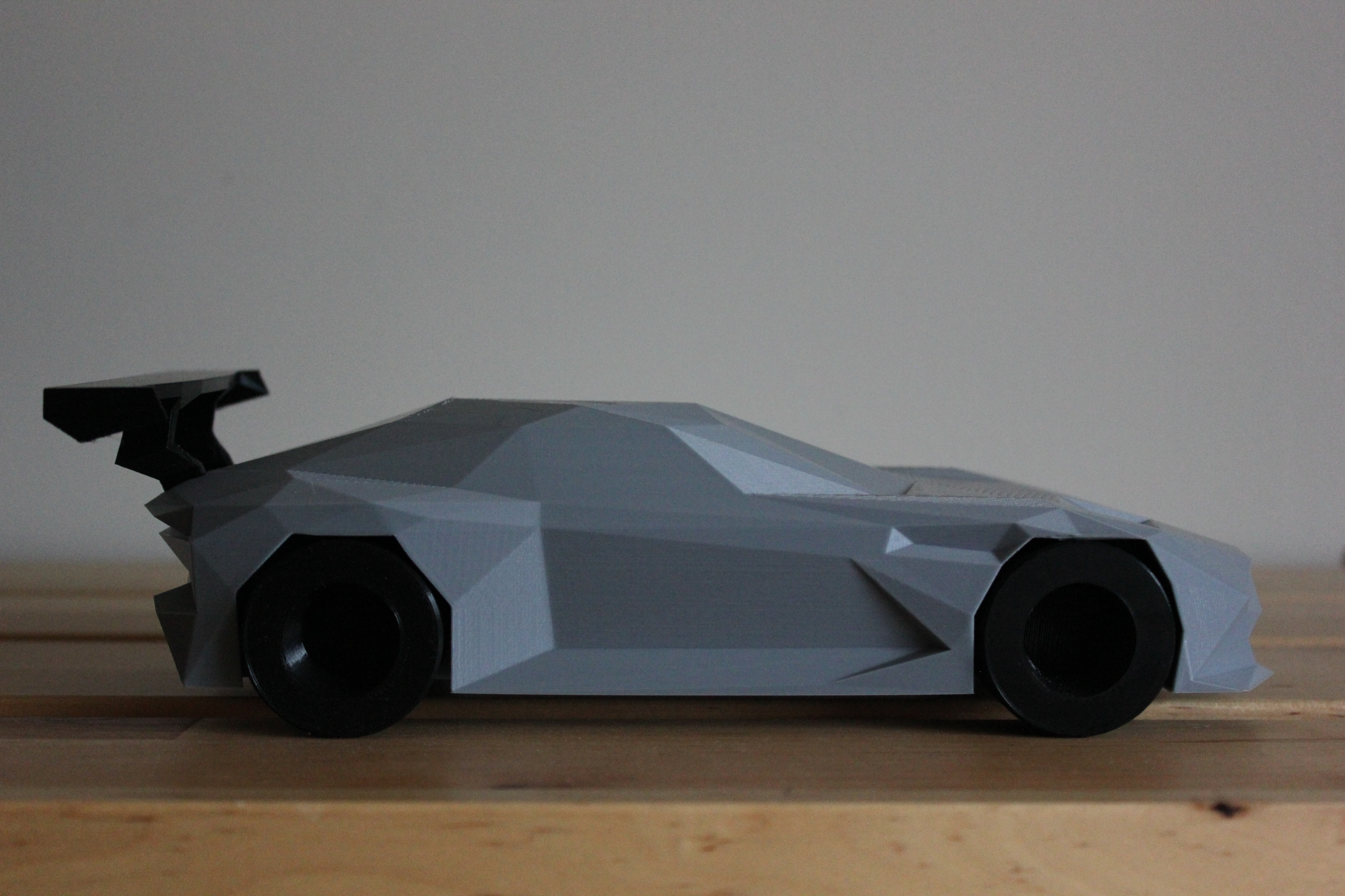 3D Printed Low-Poly Aston Martin Vulcan by DominimaDesign