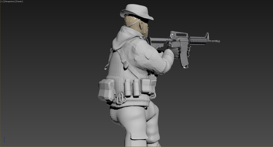 Captain Price -Call Of Duty 3D Print 182144