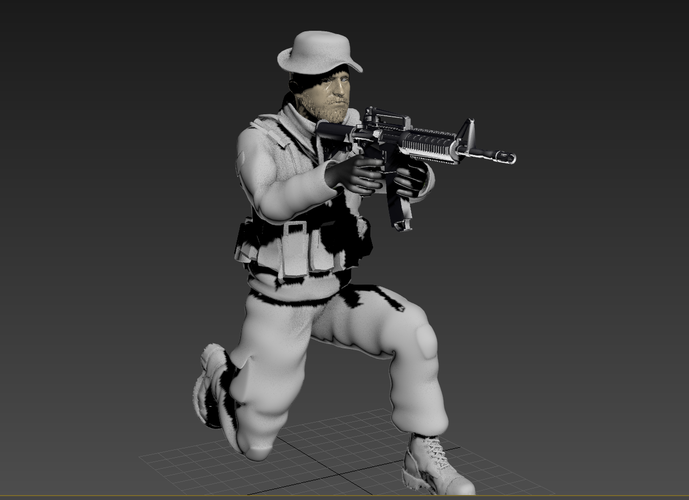 Captain Price -Call Of Duty 3D Print 182145
