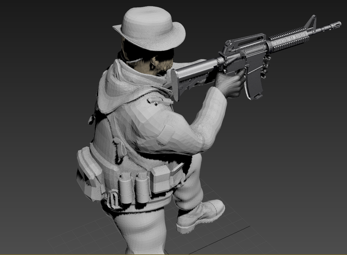Captain Price -Call Of Duty 3D Print 182146