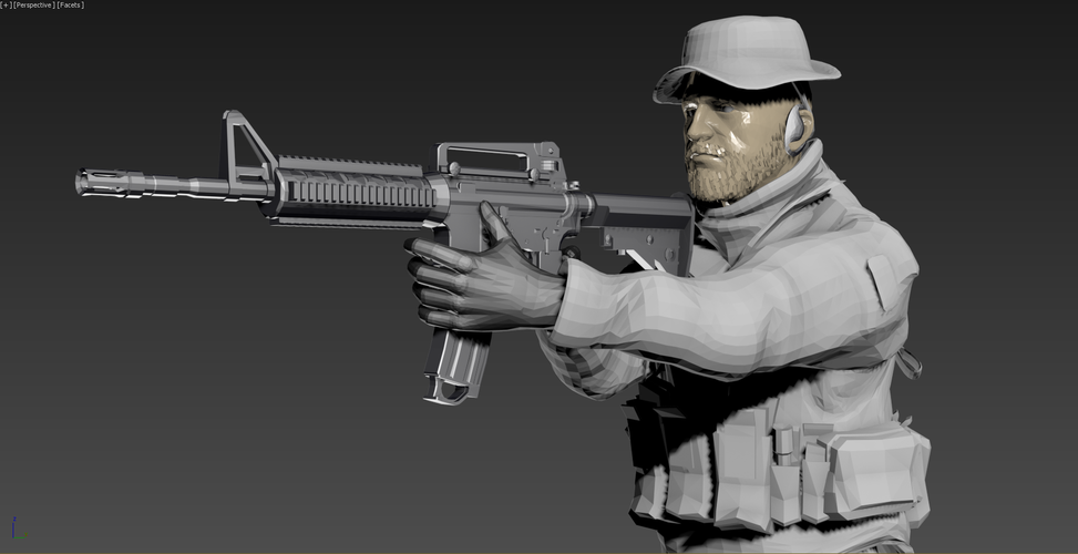 Captain Price -Call Of Duty 3D Print 182148