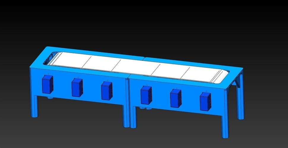 Santa's Conveyor Table 3D Print 182172