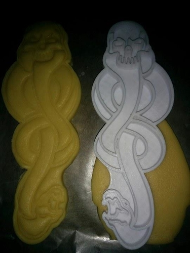 Dark Mark Cookie Cutter 3D Print 182211