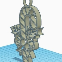 Small Candy Cane Ornament  3D Printing 182302