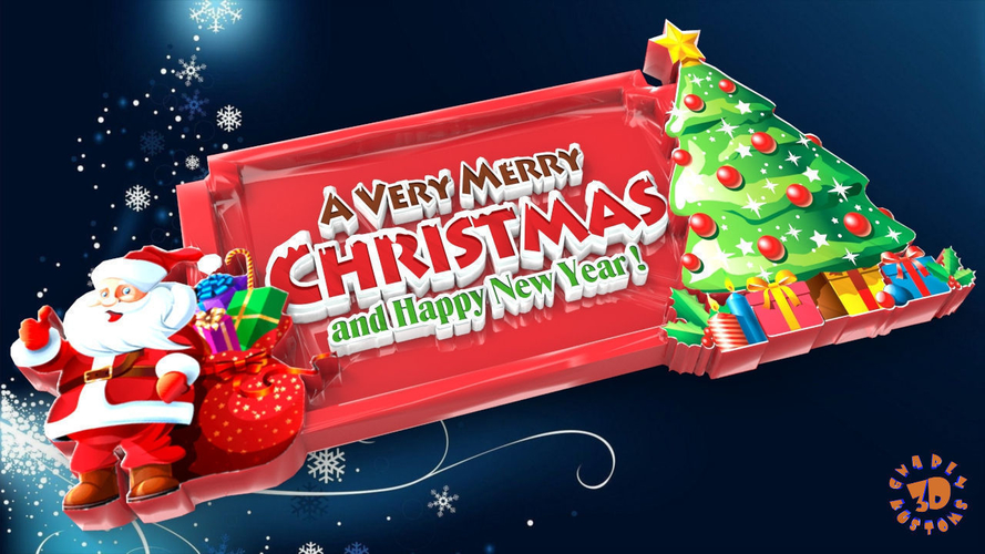 Merry Christmas And Happy New Year.A Very Merry Christmas Happy New Year Sign