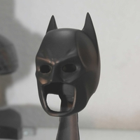 Small Batman Dark Knight mask 3D Printing 182459