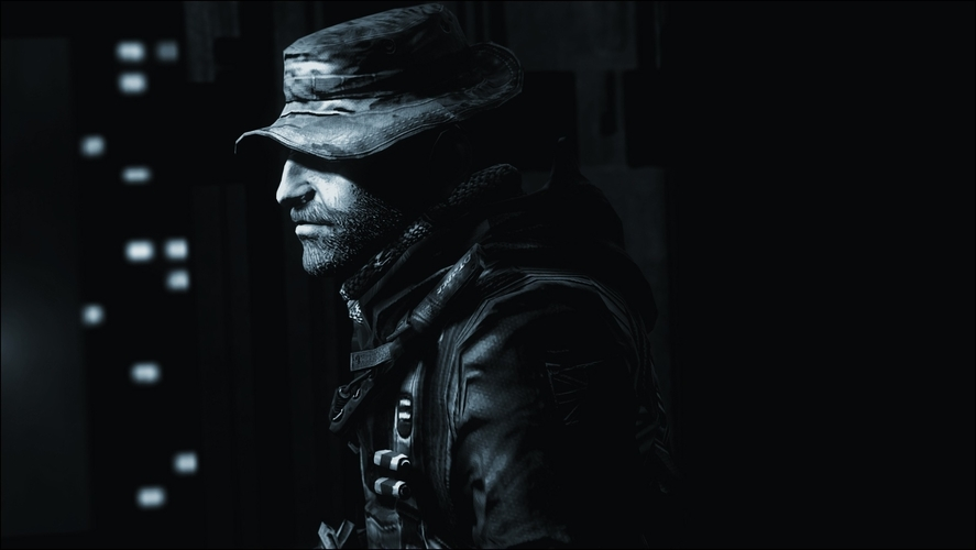 Captain Price -Call Of Duty 3D Print 182475