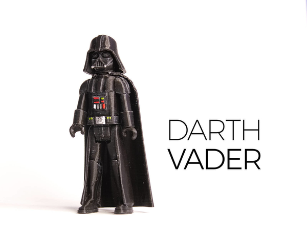 Medium Darth Vader 3D Printing 182481