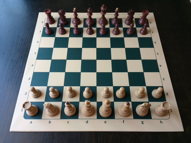Dubrovnik Style Chess Set 3D Print 182568