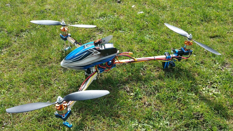 Filament2 Tricopter 3D Print 18262 & 3D Printed Filament2 Tricopter by dragonflyRC | Pinshape