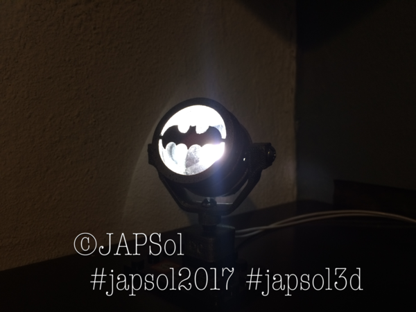 Medium Batman batsignal 3D Printing 182661