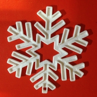 Small Snowflake-Holiday ornaments 3D Printing 182664