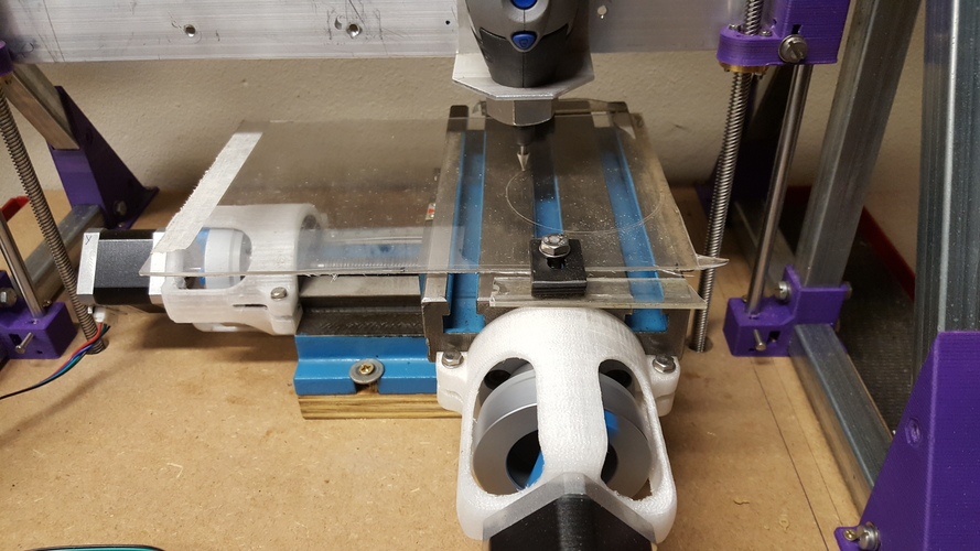 Z axis for CNC mini mill 3D Print 182682