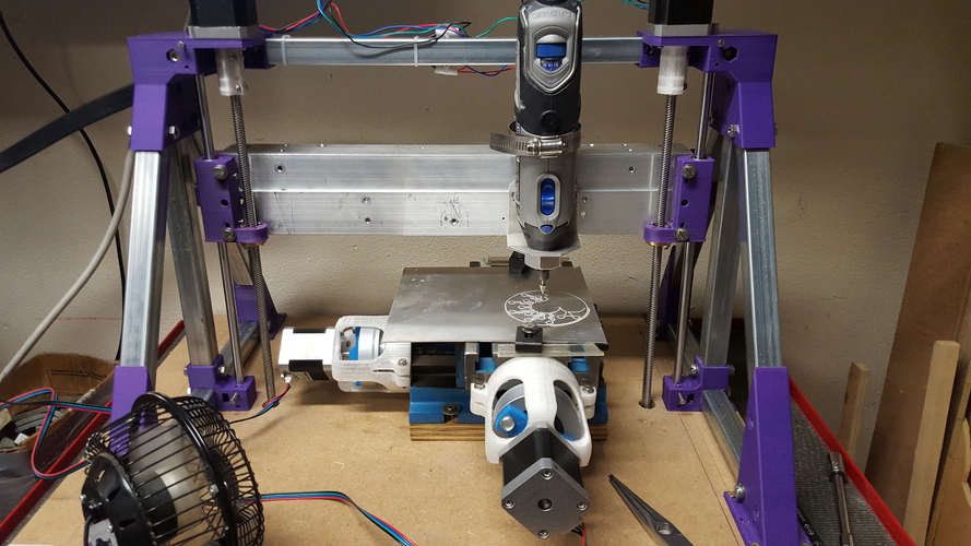 Z axis for CNC mini mill 3D Print 182685
