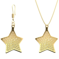 Small Earring and Necklace star Type 1 3D Printing 18269