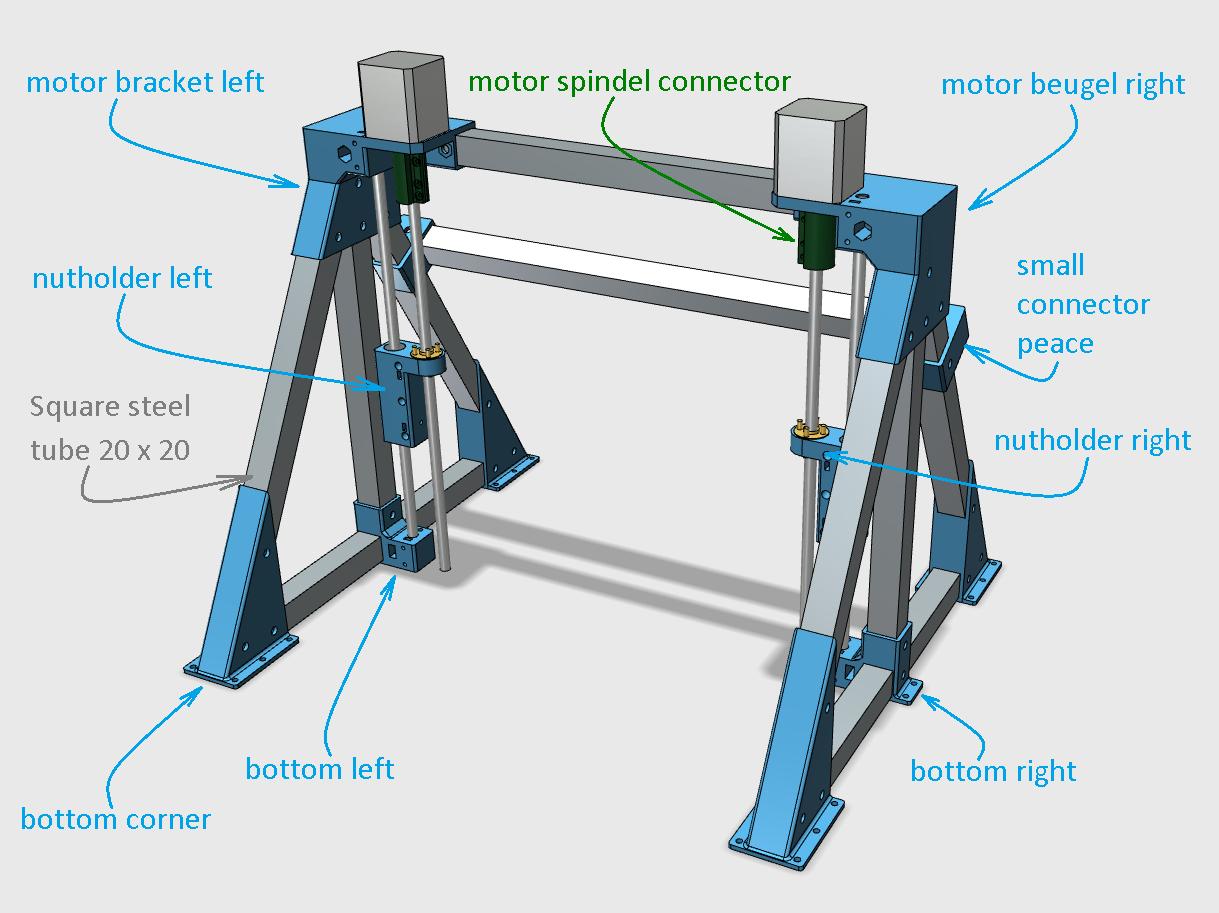 3D Printed Z axis for CNC mini mill by jobsmolders   Pinshape