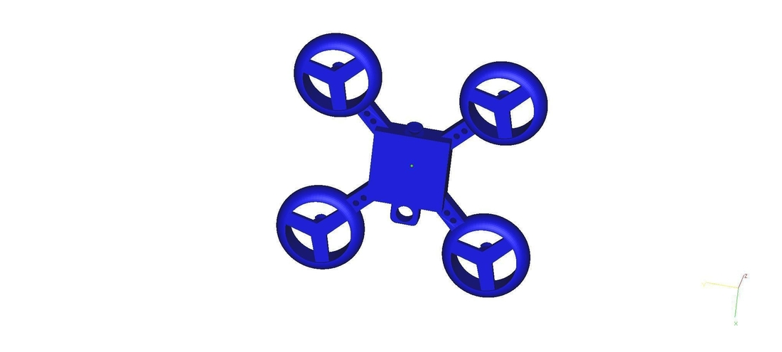 drone keychain 3D Print 182712