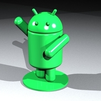 Small Android articulated 3D Printing 182934