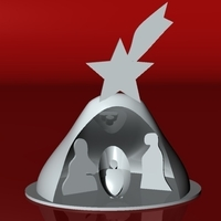 Small stylized Nativity 3D Printing 182941