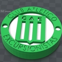 Small Escudo Excursionistas 3D Printing 183112