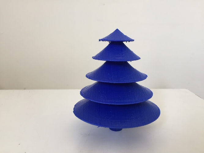 Table top Christmas tree 3D Print 183170