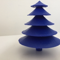 Small Table top Christmas tree 3D Printing 183173
