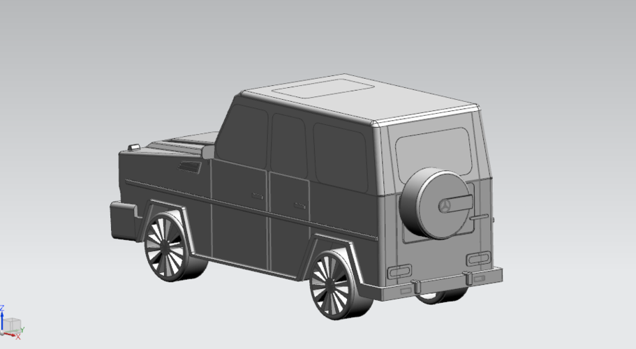 Mercedes-Benz G-Class (FIRST CLASS MODEL CAR) 3D Print 183183