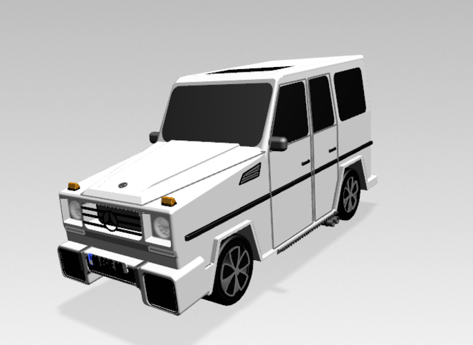 Mercedes-Benz G-Class (FIRST CLASS MODEL CAR) 3D Print 183207