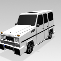 Small Mercedes-Benz G-Class (FIRST CLASS MODEL CAR) 3D Printing 183207