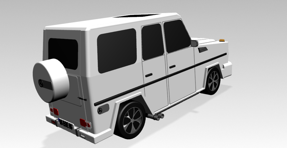 Mercedes-Benz G-Class (FIRST CLASS MODEL CAR) 3D Print 183208