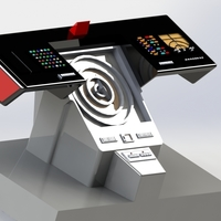 Small Star Trek Console 3D Printing 183428