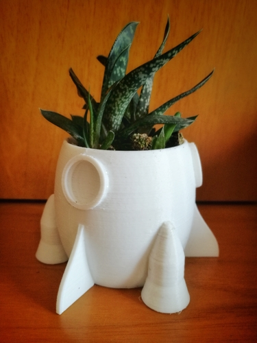 trio of small pots for succulents 3D Print 183612