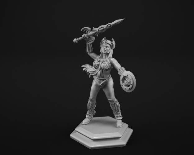 Warrior princess 3D Print 183692