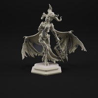 Small Succubus 3D print model 3D Printing 183757