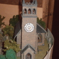 Small SCALEPRINT St Trinians Church part 3 the bells and bell frames 0 3D Printing 183879