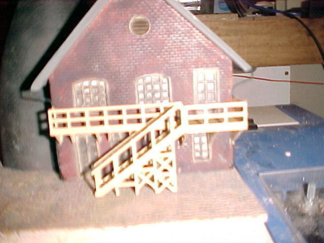 SCALEPRINT POTTERY PART-2 STAIRS, DECKING 00 H0 SCALE 3D Print 183894
