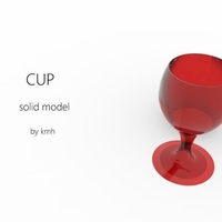Small cup - coupe 3d model 3D Printing 183927