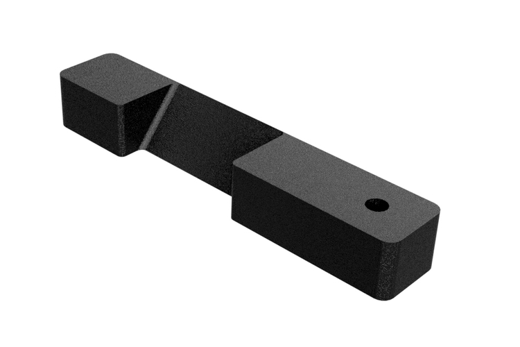 Handbrake Spare Part - LOCK LATCH LEVER  3D Print 183986