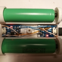 Small charge 2 lipo 18650 easily 3D Printing 183992