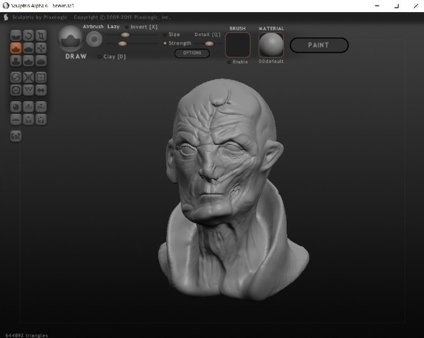 Medium Supreme Leader Snoke 3D Printing 184039