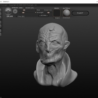 Small Supreme Leader Snoke 3D Printing 184039