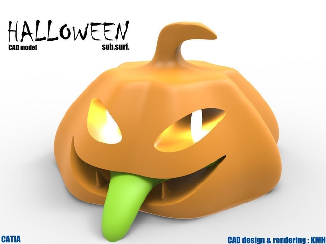 halloween 3d model for printing 3D Print 184052