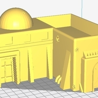 Small Star wars Legion - Tatooine Scenery easy to print ! 3D Printing 184136
